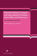 Selected National, European and International Provisions fron Public and Private Law