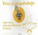 Heksje Wijsneus vriendschapsheksje (hanger)