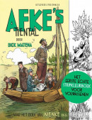 Het eerste echte strip kleurboek voor volwassenen - Afke's Tiental