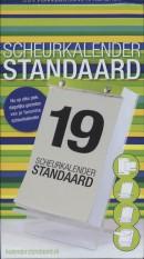 Scheurkalenderstandaard, mat zwart 18 cm