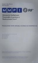 Handleiding MMPI-RF