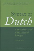 Syntax of Dutch: Adpositions and Adpositional Phrases