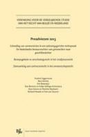 Vereniging voor de Vergelijkende Studie van het Recht van Belgie en Nederland Preadviezen 2013