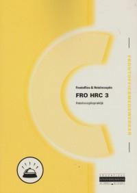 FRO HRC 3 Hotelreceptiepraktijk
