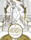 Fantastic Beasts and Where to Find Them: Magische personages en plaatsen - kleurboek