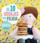 Felicia deelt koekjes uit