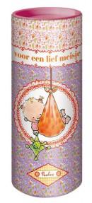 Koker met Rompertje (meisje mt 50-56)Pauline Oud