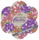 Creative colors 100 creaties flowers, kleuren voor volwassenen