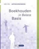 In Balans Boekhouden in Balans hbo/wo Antwoordenboek Basis