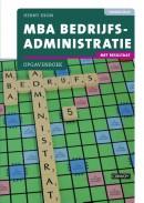 MBA Bedrijfsadministratie met resultaat Opgavenboek 2e druk