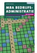 MBA Bedrijfsadministratie met resultaat Uitwerkingenboek 2e druk