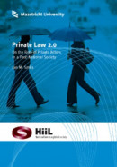 Private law 2.0 On the role of private actors in a post-national society
