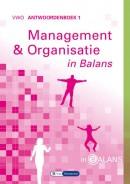 Management & Organisatie in Balans vwo antwoordenboek 1