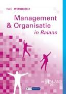Management & Organisatie in balans vwo werkboek 2