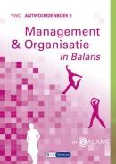 Management & Organisatie in Balans vwo antwoordenboek 2