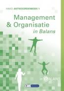 Management & Organisatie in Balans havo antwoordenboek 1