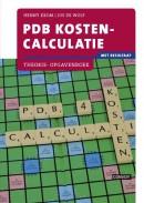 PDB Kostencalculatie met resultaat Theorie- /Opgavenboek