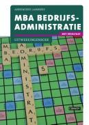 MBA Bedrijfsadministratie met resultaat Uitwerkingenboek